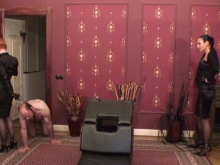 Online femdom video Madame Catarina, Domina Liza  - Double Trouble Caning Session with very special guest Domina Liza Chapter ONE