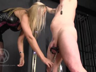 Femdom – Mistress Whiplash – WL1405 – Whipped With Weighted Balls And Nipples
