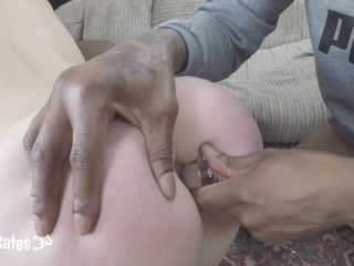 Sex Slave Shared with Big Black Cocks for DP Double Penetration