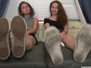 Bratty Babes Own You – Bailey, Luna – Bratty Sister Stinky Foot Humiliation