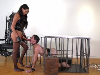 Pegging – VICIOUS FEMDOM EMPIRE – Russian Hole Stretcher – Bethany Benz