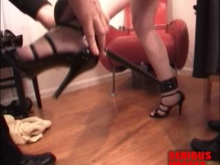 JG LEATHERS AND VENUS DEMILA IN LEATHER