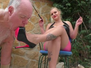 Porn online Femme Fatale Films - Mistress Fox - Lick My Feet - Complete - Foot Worship