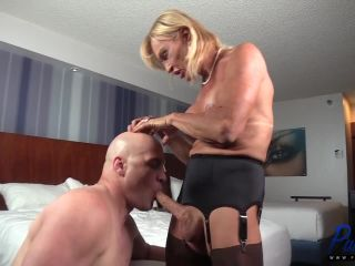 Stefani Boots in mature french TS beauty shows off