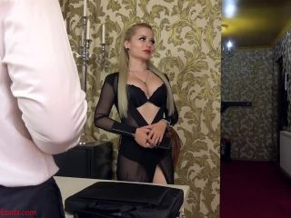 Autofellatio – Mistress Ezada Sinn – Suck yourself, senator – Mistress Sarah