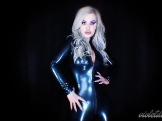 Violet Doll in Lick My Latex