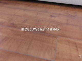 big ass mature porno hd House Slave Chastity Torment , high heels on femdom porn