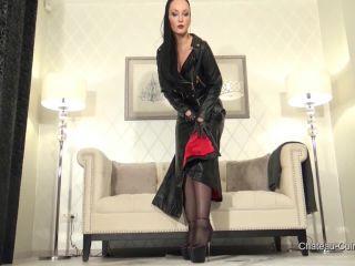 Kinky Leather Clips - Sensual Leather Biker Dress JOI [HD 720P] - Screenshot 1
