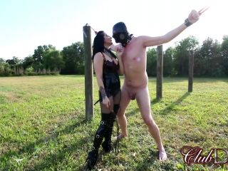 ClubDom – Raven Eve – Temptress Eve and Algo Mini Movie – Female Domination – Femdom, Canes