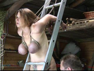 Porn online Predicament Bondage Garage Session for Bettine and Katharina 1