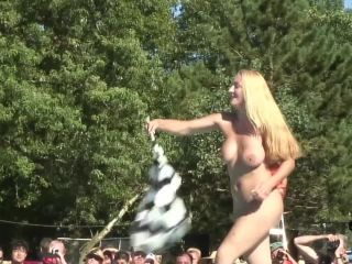 Nudes a poppin roselawn indiana stripper contest at a nudist resort