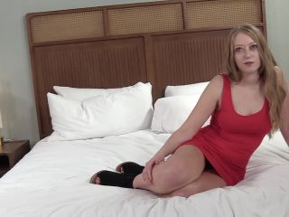18 Years Old Inexperienced Blonde In Porn Casting...