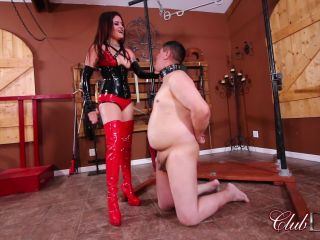 Clubdom – Slapped by Miss Roper For Disobedience   spitting   bdsm porn gay bdsm fisting extreme