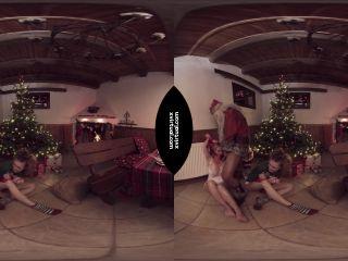 Title Bad Santa in 180° - 4K - VR