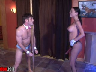 Chained To A Pole And Fucked