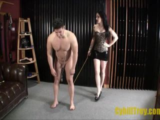 Cybill Troy FemDom Anti-Sex League  Touch Your Toes