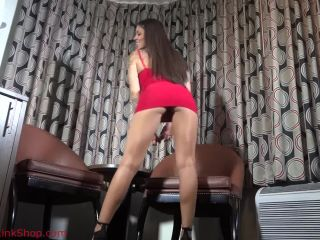 Kaylajanepov presents Kayla Jane Danger in Mini Dress Worship and JOI