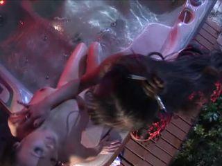 Asian Sinsations, big ass toys 2015 on lesbian    pool   lesbian asian seduction