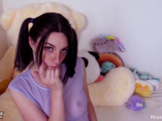 ManyVids Webcams Video presents Girl Miss Noir in Cottontail Buttplug