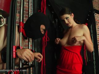 Cbt – Ball Busting Chicks – Pay for watching my tits – Angela Diabolo