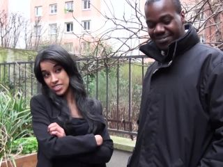 Sexy Arab Lady Enjoys Two Big Cocks at Once
