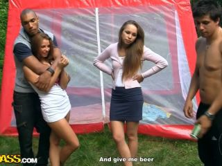 Hot college sluts go wild in the country, part 5