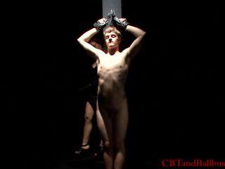 Cbtandballbusting interrogation hd