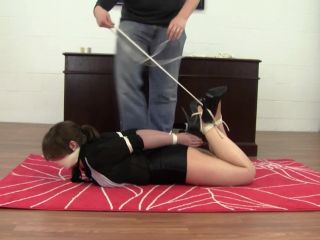 Hogtied For Distracting Attire