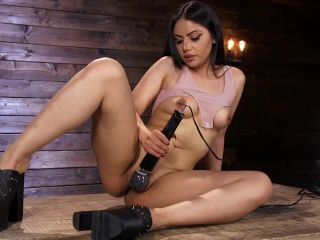 Online video bdsm fucking machines: october 10, 2018 – rose darling/latina goth slut is machine fucked