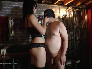 Boot – Ball Busting Chicks – Leashed and Bruised – Misstress PIP