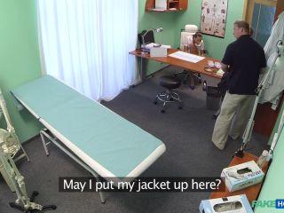 Hot brunette nurse gives patient some sexual healing - June 16, 2015
