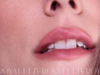 Liv Royale – Mouth Fetish JOI