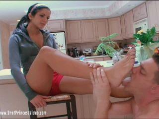 Brat Princess 2 – Christina – Foot worship by a cuck to an 18 year old Brat Princess (2020 Remaster) (SD)