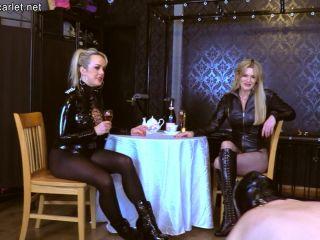 Domina Scarlet – Mistress Scarlet, Mistress Tess – Mistress High Tea 1080p