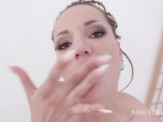 Krystal Kaytlin anal fisting domination to busty Jolee Love