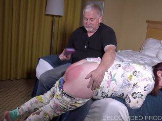 Late Checkout Spanking - Strictly Spanking, BDSM, Pain Video