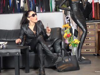 Mistress Gaia – Boots and Sperm