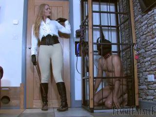 Verbal Humiliation – FemmeFataleFilms – Dommelia's Dirt Slave – Complete Film – Goddess Dommelia