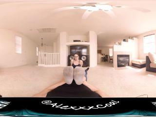 Alex Coal - Virtual Reality Sweaty Foot Worship VR360