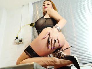Femdom – Glam Worship – Lilly Roma – My Perfect Ass, condom fetish on pov