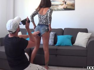 IXXVICOM - Hard sex with stepsister on the couch HD