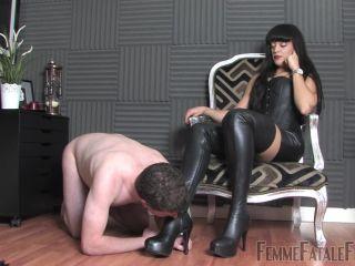 Femmefatalefilms — The Hunteress — Leather Boot Lover — Super HD