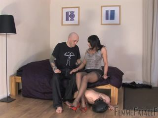FemmeFataleFilms – Mistress Carly – Carly's Cuckold – Hot Femdom – Femme-Fatale, FFF on cuckold fetish lady