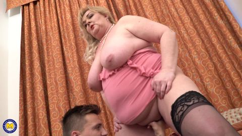 Helena - Curvy Big Breasted BBW Called Her Toy Boy For A Quick Hard Fuck (1080p)