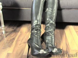 Masturbation Instruction – FemmeFataleFilms – My Smoke Slave – Part 2 – Lady Victoria Valente