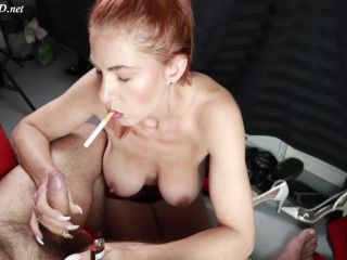 Milf smoking handjob – Misshornymiss – HandJob