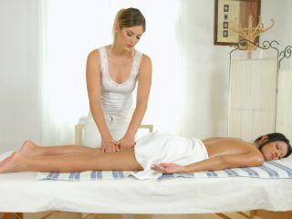 Scene Title - Sapphic massage