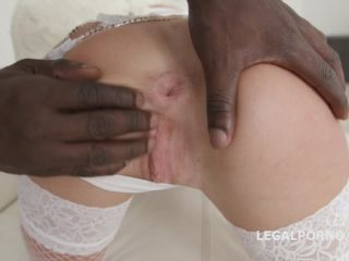 Waka Waka, Blacks areing! Barbie Sins goes black for the first time with Balls Deep Anal DAP Gapes Swallow GIO694 / 14.07.2018