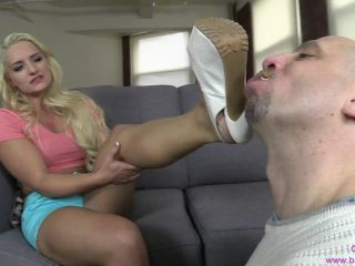 Bratprincess presents Cali Carter in Chastity and Foot POV Double Feature