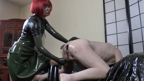 (Strict Milking On My Rubber Boots) of (Absolute Femdom) studio [FullHD 1080P]